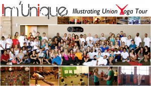 I am a tiny blip on the left when I had the honor to teaching on this tour.  Join in the fun of what truly is our state's most diverse yoga experience http://www.imuniqueunited.com/