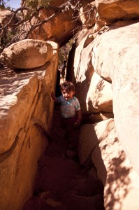 Toddler Hiking Petroglyph Loop