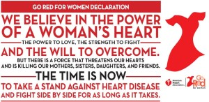 Go Red for Women Declaration