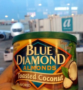 Blue Diamond at the airport