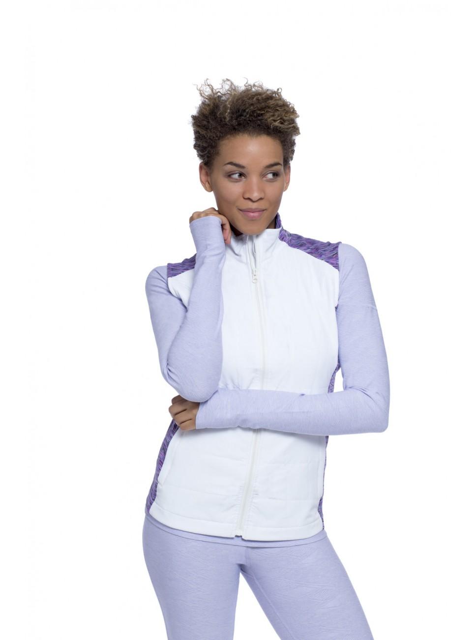 rheana vest white