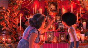 Coco ofrenda dia de los muertos